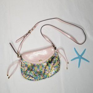 JUICY COUTURE pastel sequin crossbody bag